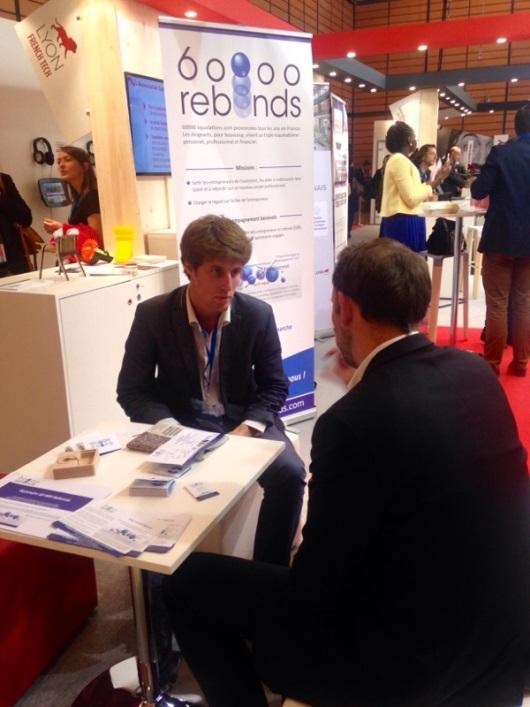 Salon des entrepreneurs 60 000 rebonds for Salon de l entrepreneur lyon