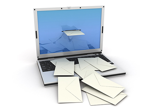 laptop email
