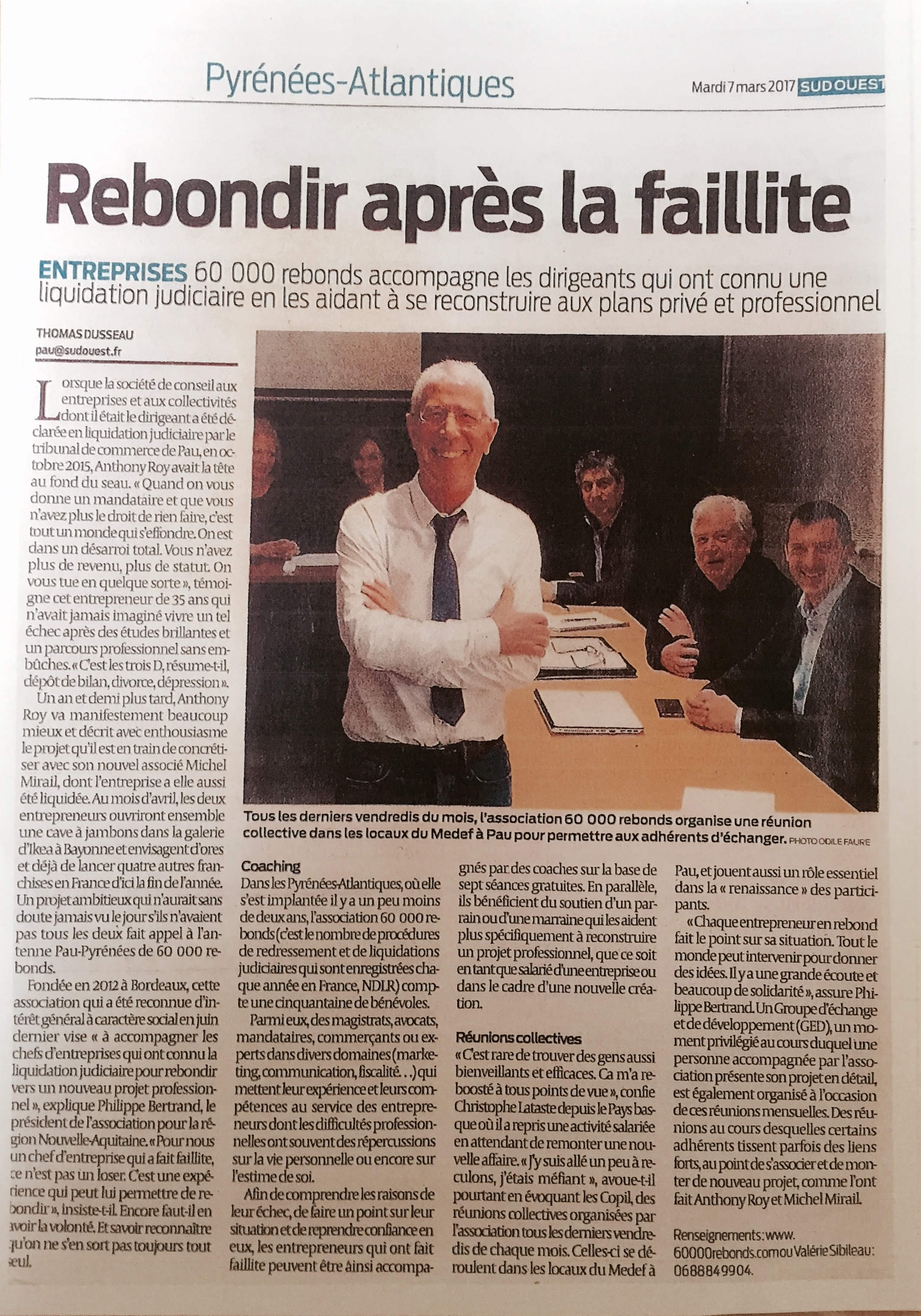 Sud Ouest mars17