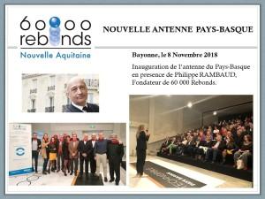 Inauguration bayonne