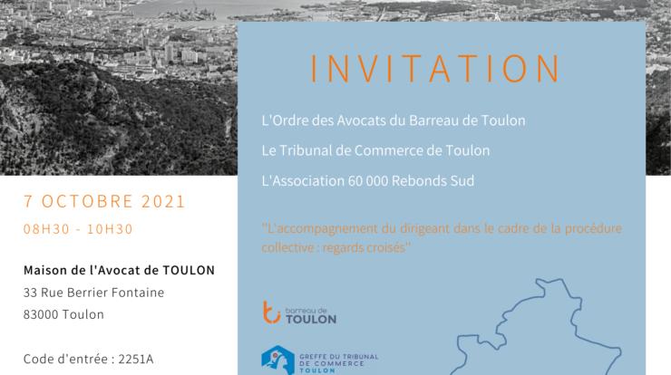 Invitation et Programme Conférence Regards Croisés 60 000 Rebonds Sud